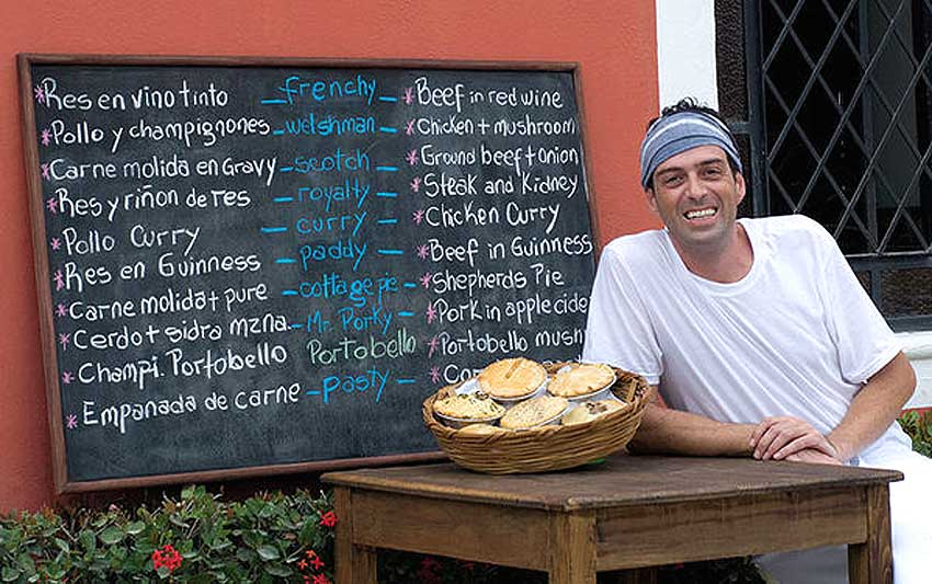 Leek and Thistle Pie Company in Puerto Vallarta